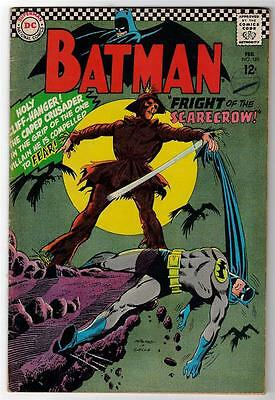 DC Comics BATMAN Silver age #189 1967 1st SILVER SCARECROW STORY & APPEARANCE