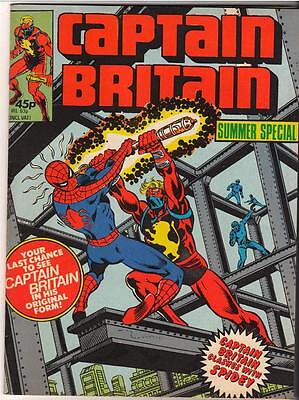 MARVEL Comics #1 CAPTAIN BRITAIN 1st official app  FN+ Bronze age 1979