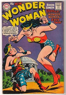 DC Comics WONDER WOMAN Vol 1 1968 175 Silver age  FN+ 6.5   batman
