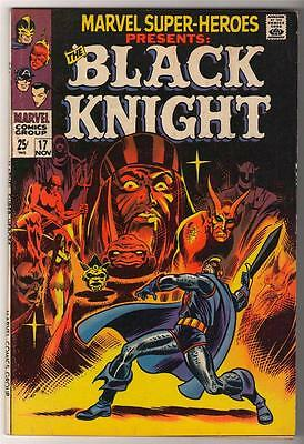 Marvel Super hero # 17  VFN 8.0  1968 BLACK KNIGHT