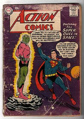 DC Action Comics Superman Golden #242 average/good copy 1ST BRAINIAC APPEARANCE