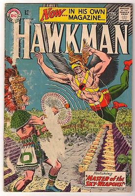 DC Comi HAWKMAN Silver age #1  Nice issue superman justice league  VG-