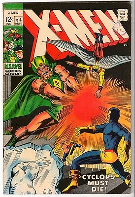 Marvel Comics FN+ X MEN  #54 1969 ALEX SUMMERS