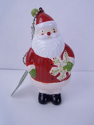 MIDWEST OF CANNON FALLS Santa W/Snowflake Christmas Holiday Ornament Tree Decor