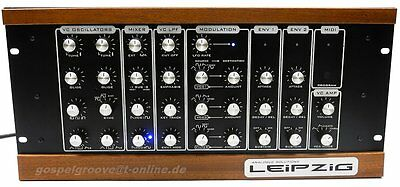 Analogue Solutions Leipzig Rack-Synthesizer Top-Zustand Rechnung + GEWÄHR