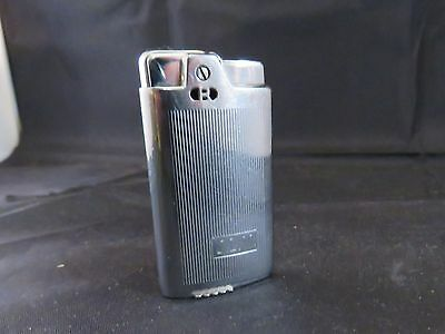 Vintage Ronson HighLite Lighter Ribbed Design w/ Monogram