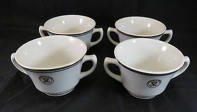 Lot of 4 Vintage Department of the Navy Cream Soup Bowl China