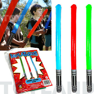 Blow Up Inflatable Star Light Saber Wars Toy Favor Boy Birthday Party Bag Filler