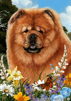 Large Indoor/Outdoor Summer Flag - Chow Chow 18114