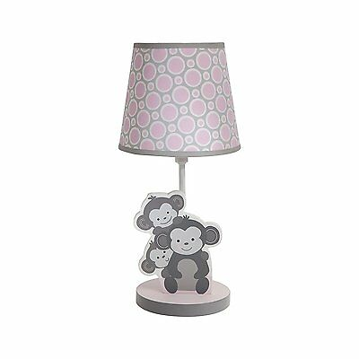 Bedtime Originals Lamp with Shade and Bulb, Pinkie  885206023042