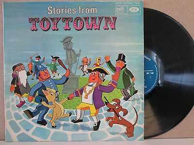 STORIES FROM TOYTOWN- Vintage + Music LP (Larry The Lamb/Arkville Dragon) VG