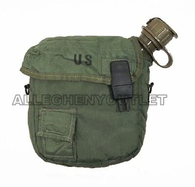 2 Quart COLLAPSIBLE Bladder Canteen with Cover - US Army Military 2 QT