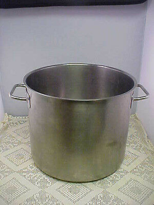 Stainless Steel Stock Pot 18-10 Restaurant Quality 12 Quart No Cover Heavy Duty