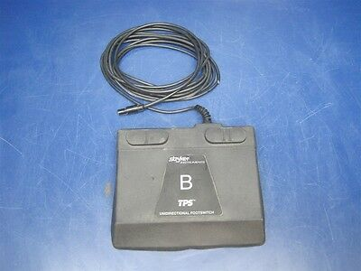 Stryker Instruments 5100-7 B TPS Unidirectional Footswitch