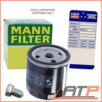 MANN OIL FILTER+DRAIN PLUG HONDA CIVIC MK7 EM 1.6+1.7 01-05 ES 1.4+1.6 00-05