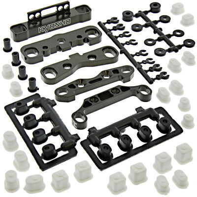 Kyosho Inferno MP9e TKI4* SUSPENSION HOLDERS, BUSHING INSERTS, SPACERS*Hinge Pin