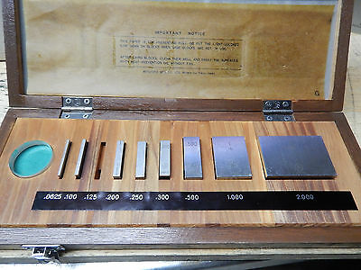 Mitutoyo 516-930 Gage Gauge Block Set In Case Machinist Tooling