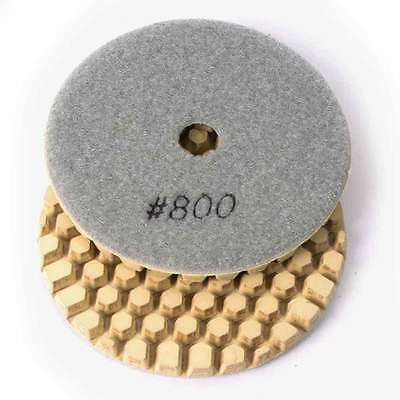 "Specialty Diamond BRTD4800 4"" Dry Concrete Polishing DGEX Pad with 6mm 800 Grit"