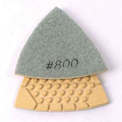 Specialty Diamond BRTTD800 Diamond Triangular Dry Pad with 800 Grit