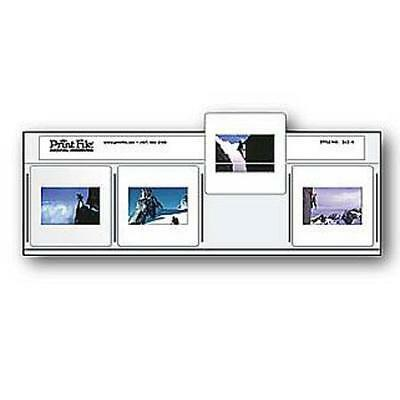 Print File 500258 Archival 35mm Slide Pages Pack of 100 #0500258