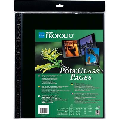 Itoya Art Profolio 11x17in Clear Pages, Portrait, 10-Pack #PR1117