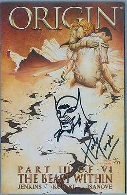 Wolverine Origin #3 Dynamic Forces Signed Herb Trimpe Remarked Sketch Low Coa #2