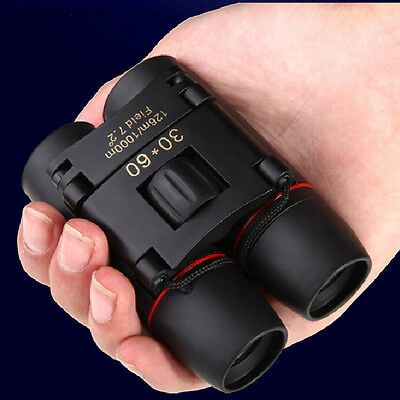 2017 ABS Shell 30x60 Zoom Outdoor Travel Folding Day Vision Binoculars Telescope