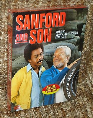 Sanford And Son The Fifth Season Dvd Box Set, New And Sealed, With Redd Foxx