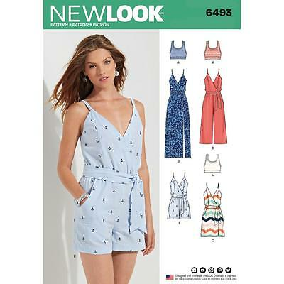 NEW LOOK SEWING PATTERN MISSES' Skirts with Length Variations SIZE 8 - 20 6493