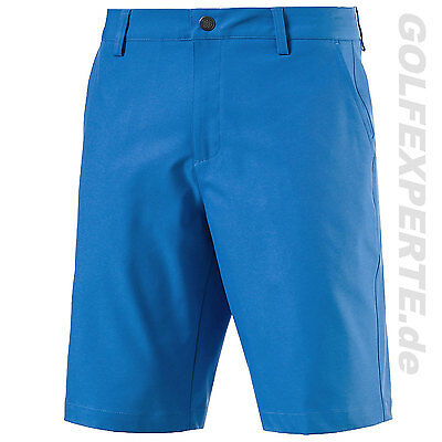 PUMA GOLF HERREN SHORTS MEN'S dry CELL ESSENTIAL POUNCE SHORTS FRENCH BLUE