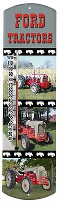 Heritage America by MORCO 375TFORD Tractor-Ford Outdoor or Indoor Thermometer,