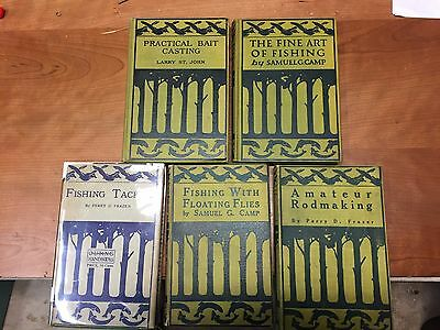Collection of 5 Outing Hand Books, Perry Frazer,,Samuel G. Clamp,Larry St.John