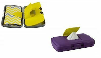 B-Box Changing Box, The Essential Diaper Wallet, Purple Or Grey! - Nappies Wipes