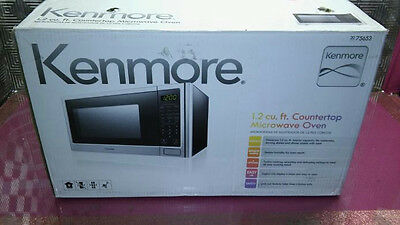 Kenmore 1.2 cu.ft. Microwave Oven - Stainless Steel model 75653