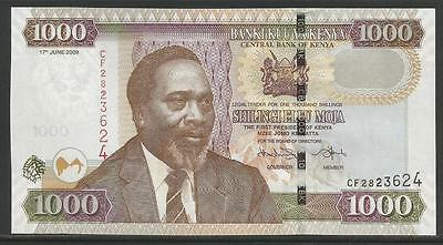 Kenya P-New 1000 Shillings 2009 Unc