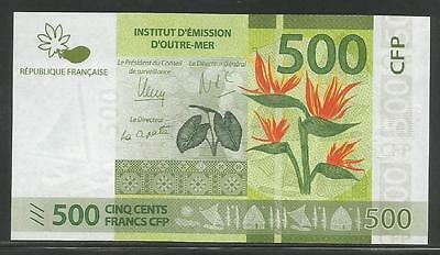 French Pacific Territories P-New 500 Francs 2014 Unc