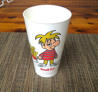 1970's Vintage Jack In The Box Small Fry Plastic Cup