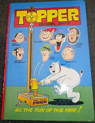 The Topper Book (Annual) 1973 Hardback