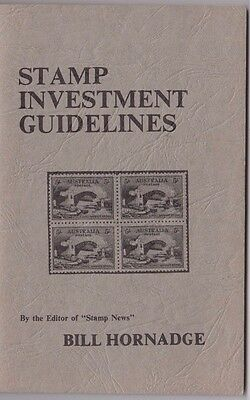 Stamp Investment Guidelines 64 page booklet by Bill Hornage on Australian stamps