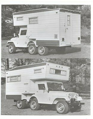 1969 Jeep Universal Camper ORIGINAL Factory Photo ouc6816