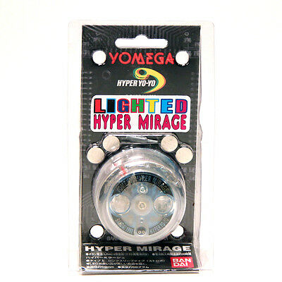 Vintage extremely rare YOMEGA lighted Hyper Mirage plastic yo-yo