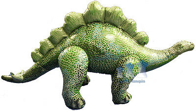Inflatable Stegosaurus, Green
