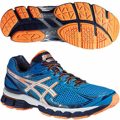 ASICS GT 3000 2 Mens Pronation Support Running Sports Trainers Shoes Blue