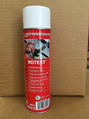 ROTHENBERGER 65000 ROTEST Leak Detector Spray 400ml