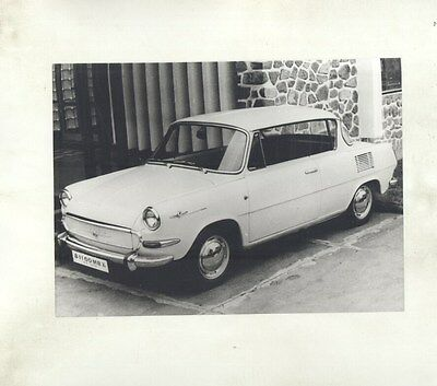 1968 Skoda 1100MBX ORIGINAL Factory Photograph ww6840