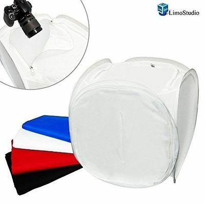 LimoStudio Perfect 30 Inch Photography Light Tent-Photo Cube Softbox Light Box