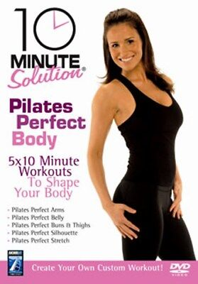 10 Minute Solution Pilates Perfect Body New DVD Region 2