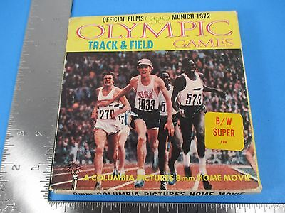 Vintage 8mm Home Movie Film Official 1972 Olympics Games Track Field Munich VS11