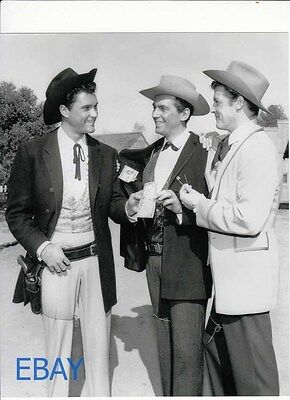 Jack Kelly Roger Moore Maverick RARE Photo