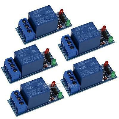 5Pcs 1-Channel 5V Relay Module Shield for Arduino 1280 2560 ARM PIC AVR DSP New
